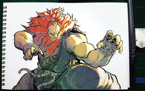Akuma from Street Fighter 5