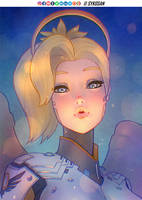 Mercy from Overwatch by sykosan