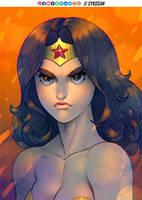 Wonder Woman by sykosan