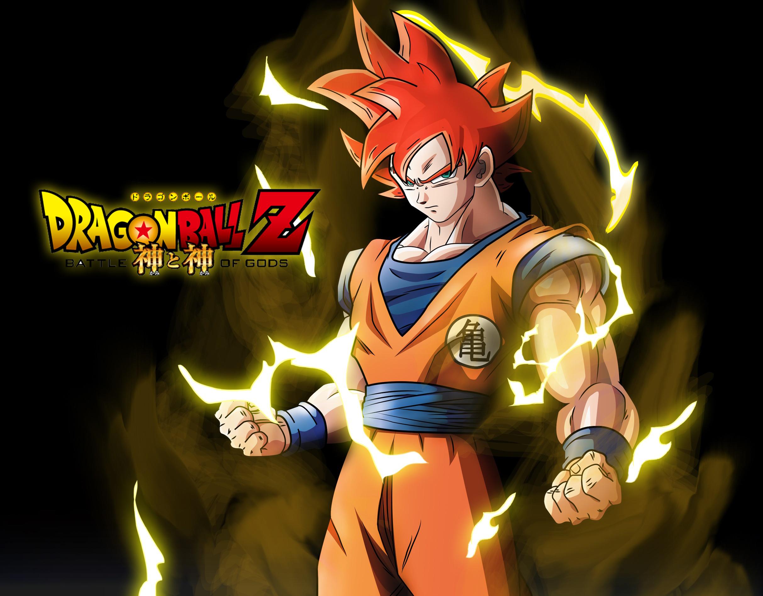 Dibujo De Goku Super Sayayin Dios Fase 5 Pintado Por En: Goku Dios By XYelkiltroX On DeviantArt