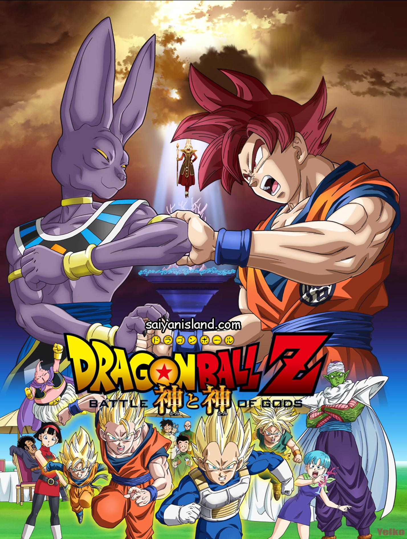 Google chrome themes dragon ball z - Dragon Ball Z Battle Of Gods Wallpaper By Xyelkiltrox