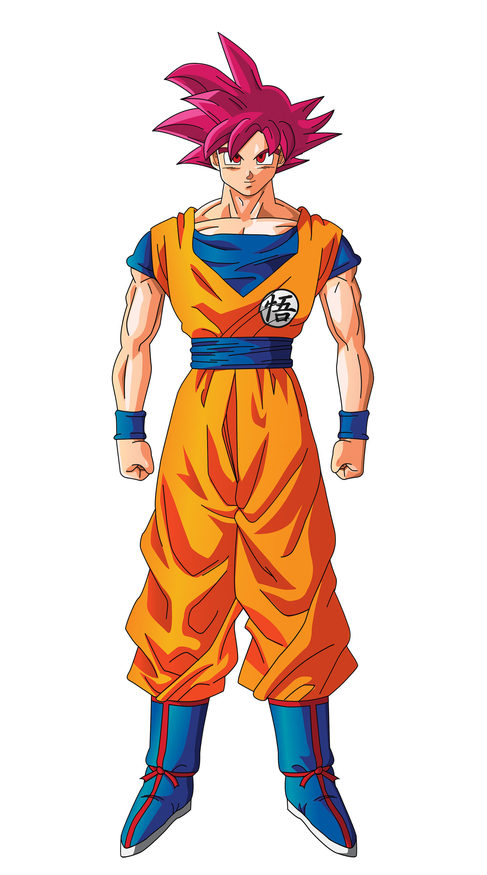 Goku Super Saiyan God Normal DBZ 2013 by XYelkiltroX on ...