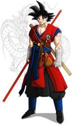 Son Goku Definitivo by XYelkiltroX