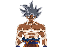 Ultra instinc mastered - Goku Render by XYelkiltroX