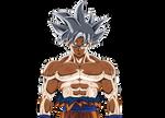 Ultra instinc mastered - Goku Render