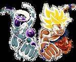Goku SJ V Freezer DBS Final 131 Render