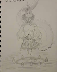 ritual sacrifice by Kweo