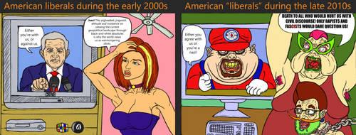 Stuffer tries it: Shitty Political Cartoons! by StufferofLegends