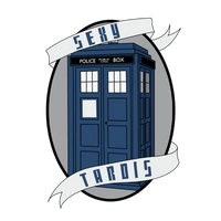 'Sexy' TARDIS by TimeToDance93