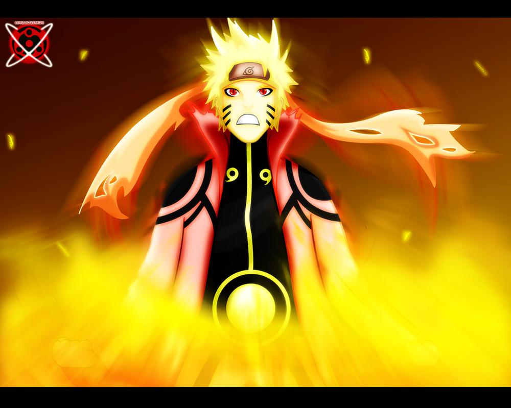 Naruto Sage Of Six Paths Mode Hd Wallpaper