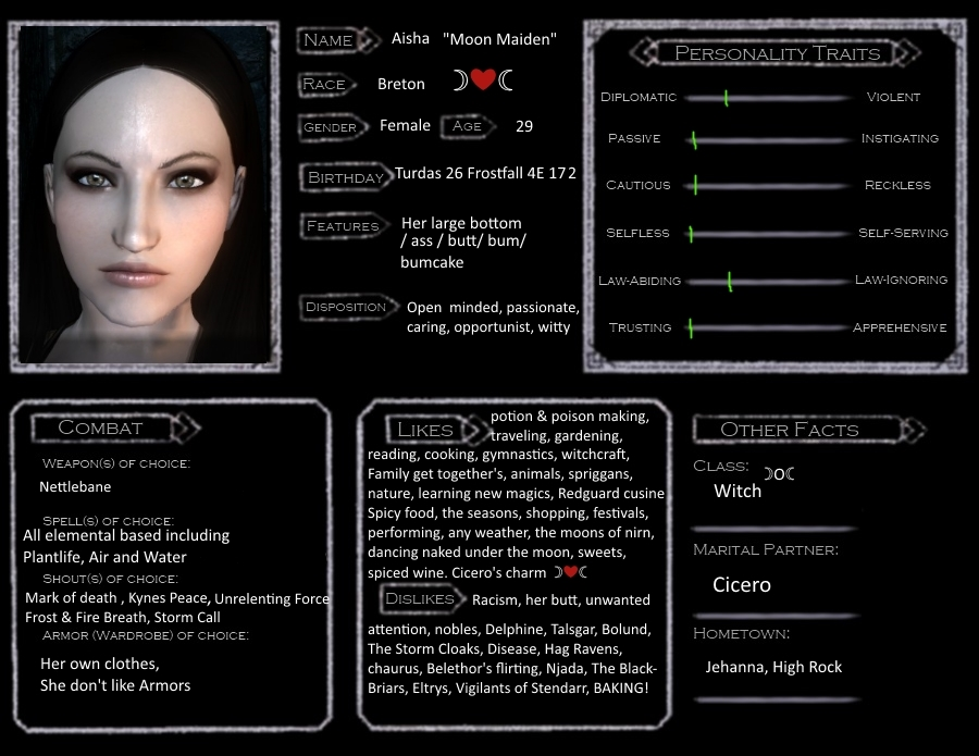 Skyrim character template aisha moon maiden by dolly belladonna skyrim character template aisha moon maiden by maxwellsz