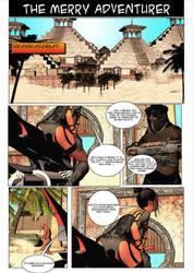 The Merry Adventurer comic test