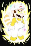 White Raccoon Mario (JBX9001)