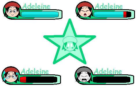 Adeleine HUD and Star Icon (KRtDL)
