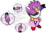 Kirby and Coo (Cutter Ability)