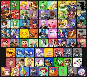 Super Smash Bros. 4 Custom Roster