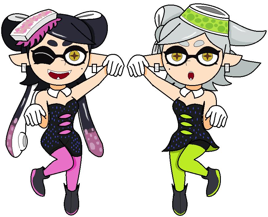 how to draw splatoon squid