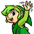 Green Link See Ya Later Icon by JBX9001