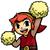 Red Link Shows School Spirit by JBX9001