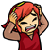 Red Link Freaks Out Icon by JBX9001