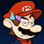 Mario Is Not Amused Icon by JBX9001