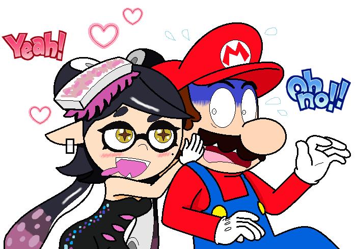 Mario X Callie Favourites By TAG990 On DeviantArt