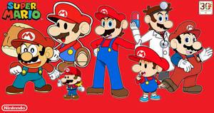 Super Mario 30th Anniversary Special Artwork