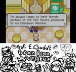 Prof. E Gadd's Bean Bean Machine (Miiverse Post)