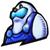 KPR Sticker - Manga Mr. Frosty by JBX9001