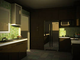 Still life kitchen 3D by slitchz