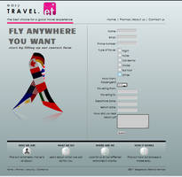 Web design for easy travel by slitchz