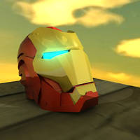 Iron man helmet by slitchz