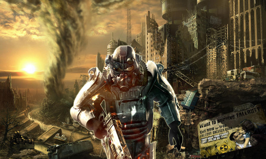 Fallout 3 hd wallpaper by z lightning z on deviantart fallout 3 hd wallpaper by z lightning z thecheapjerseys Images