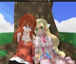 Zeira and mavis (Fairy tail zero) par spyrojojo