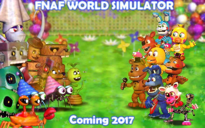 FNaF World SIMULATOR by CrashKandicootGames on DeviantArt