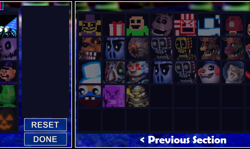 FNAF WORLD SIMULATOR: Unfinished new section! by