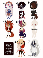 [flatsale + ota] choobs [closed] by mimonadopts