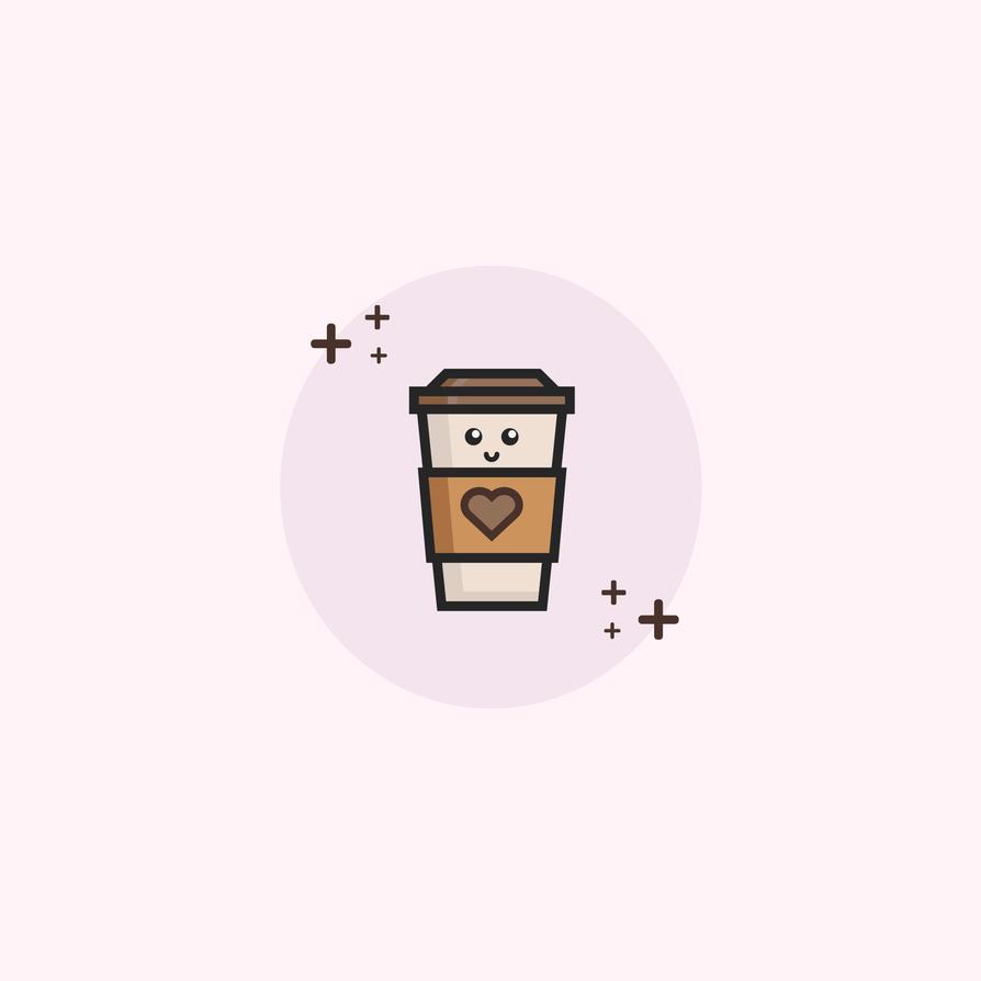 Takeaway coffee cup illustration! by illustratorjake