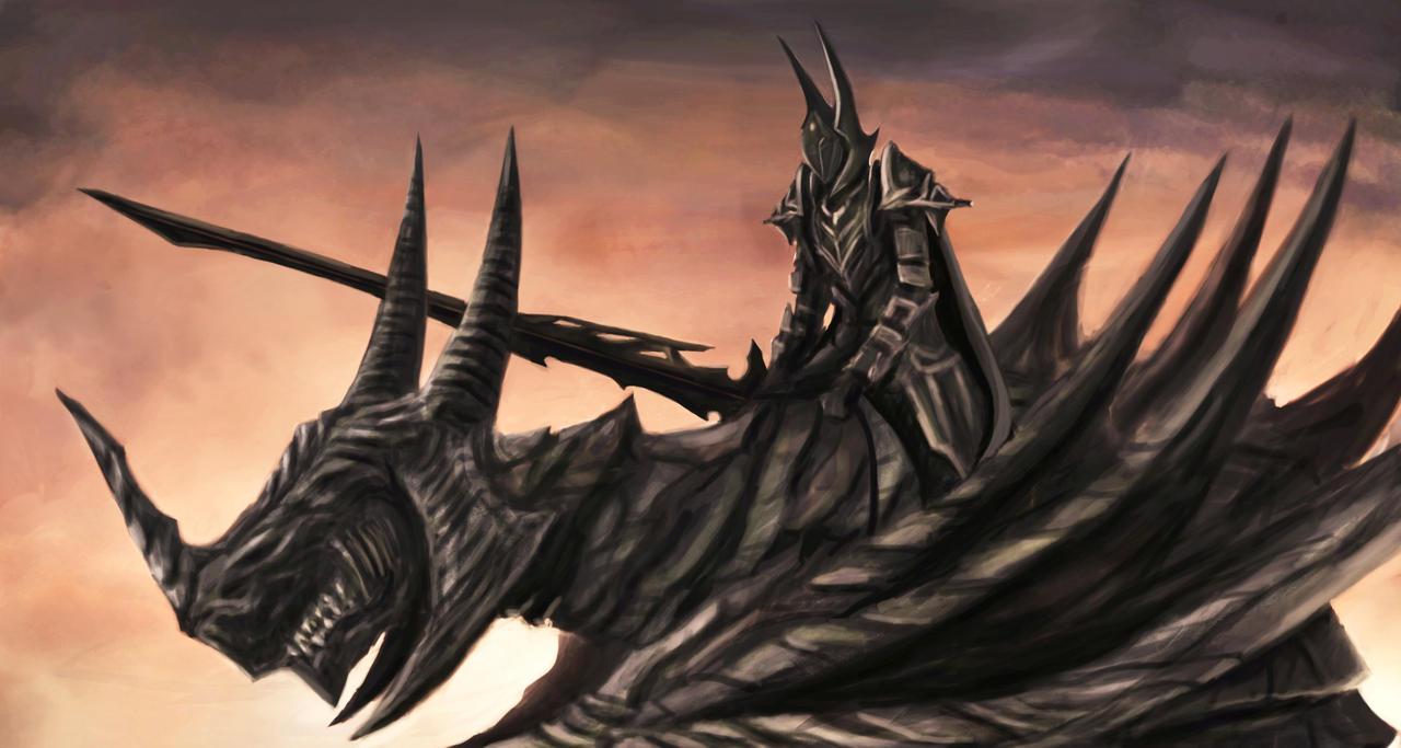 Dragon Knight by LivanVellnight