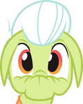 Shocked Granny Smith Vector