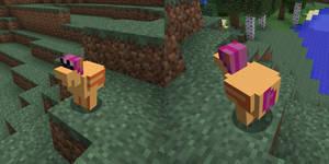 Minecraft Chicken Scootaloo Texture Pack