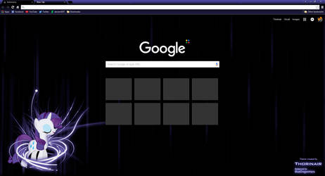 Rarity Google Chrome Theme