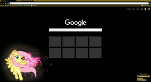 Fluttershy Google Chrome Theme