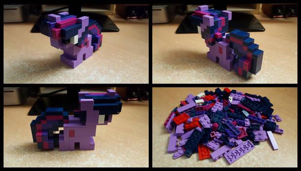 [LEGO] Pixel Twilight Sparkle