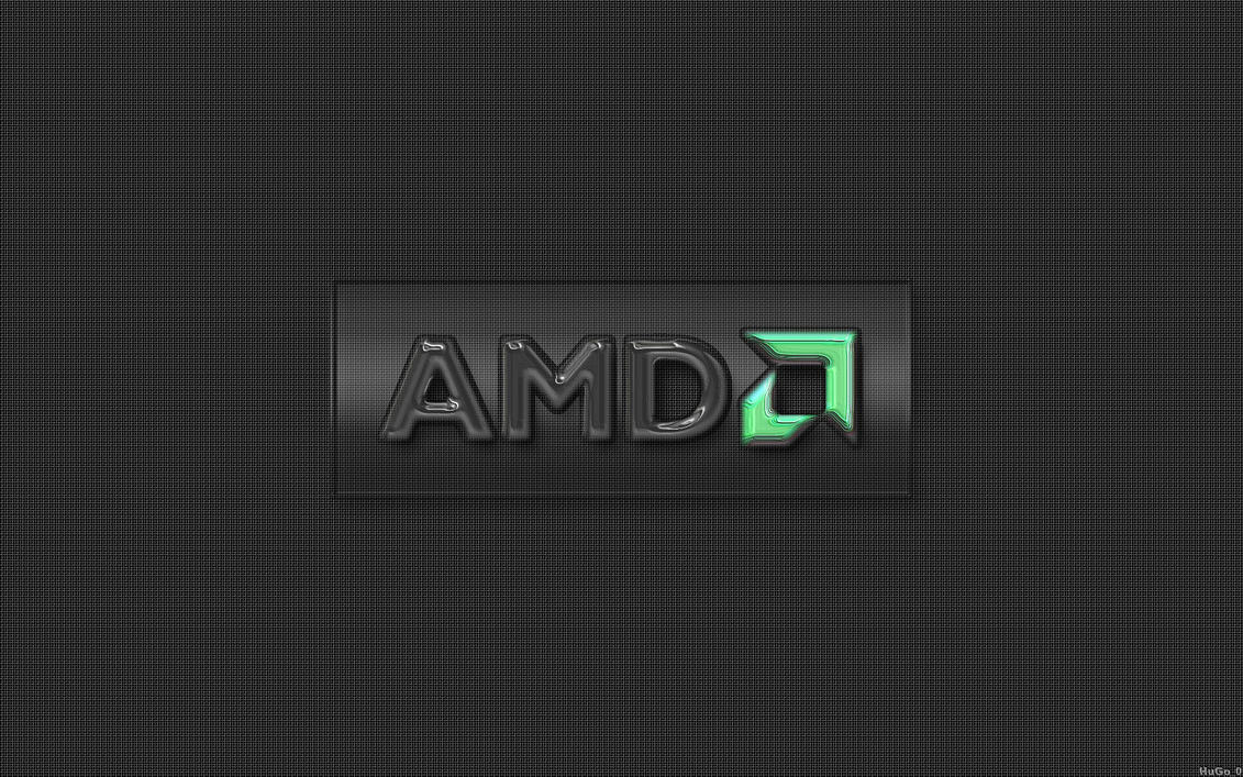 AMD mesh glassy logo by HuGo07