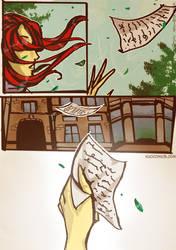 Fox Rain 88 by Kuocomics