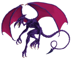 Metroid 25th -- RIDLEY by Green-Mamba