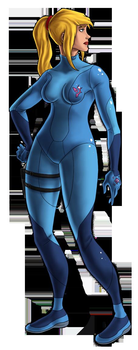Metroid 25th--ZERO SUIT SAMUS by Green-Mamba