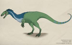 001--GOJIRASAURUS QUAYI by Green-Mamba