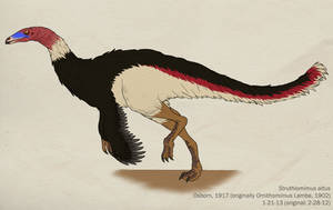018--STRUTHIOMIMUS ALTUS by Green-Mamba